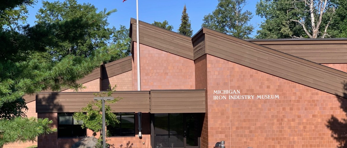 Free museum day means you can visit a new and different place that matches your interests! Here: The Michigan Iron Industry Museum in Negaunee, Upper Peninsula.