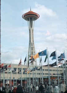 The Seattle Space Needle in 1962. (Photo: Wkipedia)