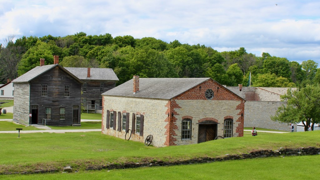 Fayette Historical State Park has restored many of the original buildings.