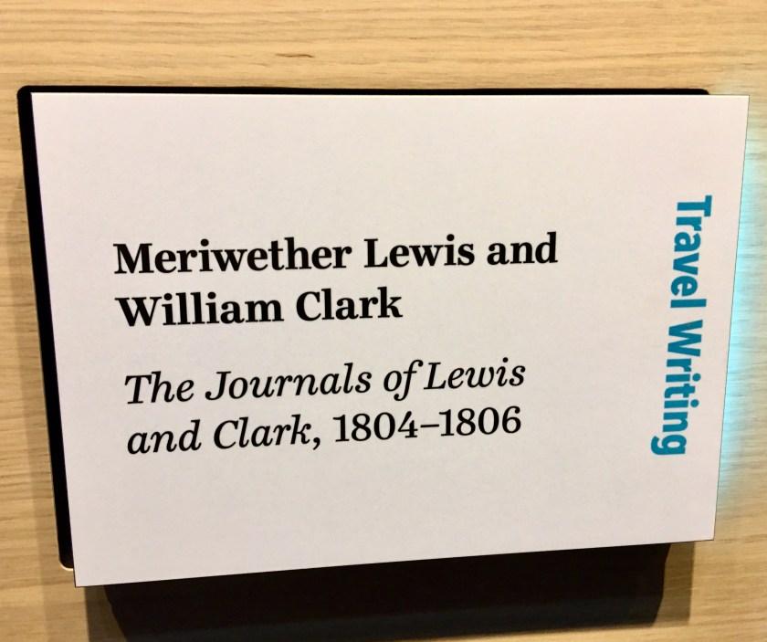 American Writers Museum--Lewis & Clark