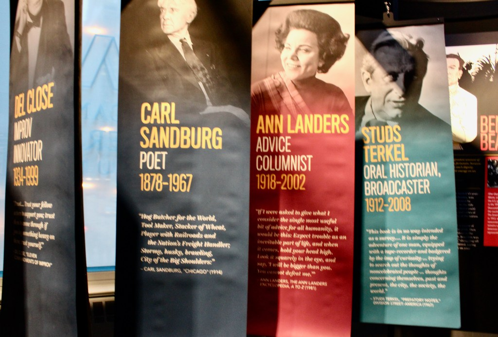 American Writers Museum-Chicago Authors