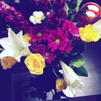 Beautiful flowers from some friends