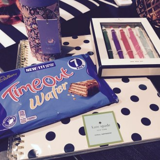 God, I love stationary and chocolate - my sister knows me well!
