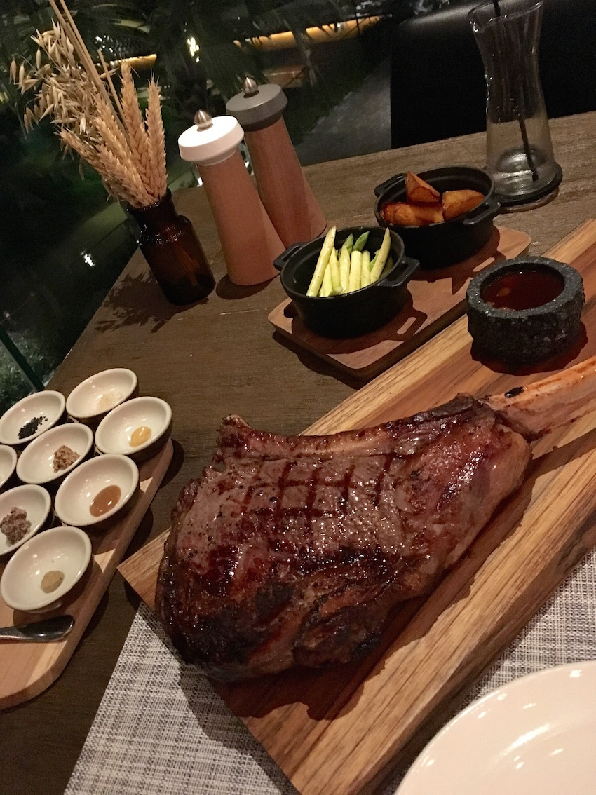 Our huge Tomahawk