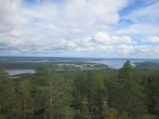 View of Vuokatinvaara (in Sotkamo)