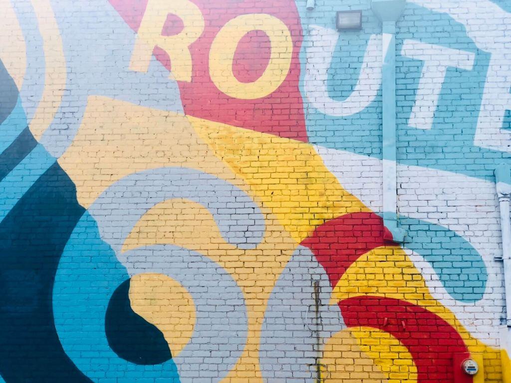 Tulsa Murals Route 66