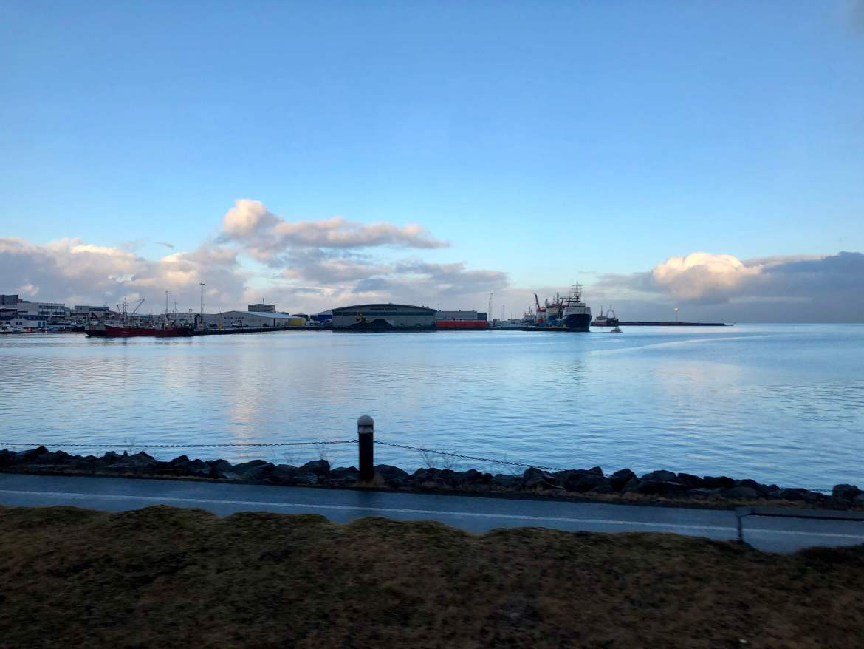 Reykjavík Iceland Harbor