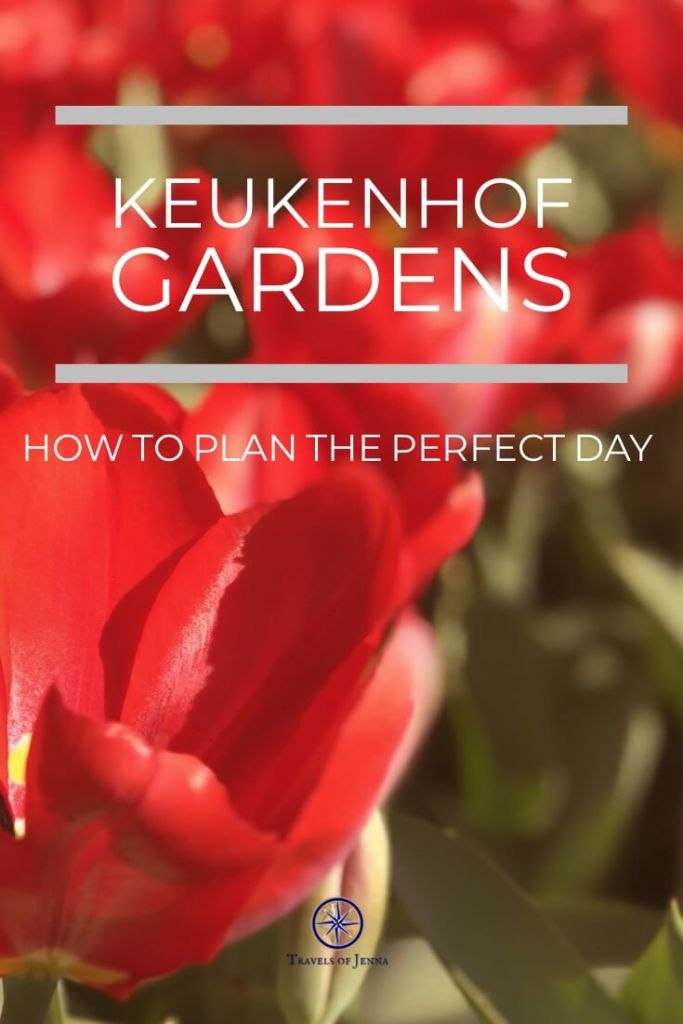 Visiting Amsterdam? Don't miss one of the most amazing gardens in the world. Endless flowers and surrounded by tulip fields, this place belongs on your bucket list! Plan the perfect day in Keukenhof Gardens. #keukenhofgardens #bucketlistdestinations #amsterdamtulips #tulipseason #beautifulgardens #amsterdamtulipseason #amsterdamplanningguide