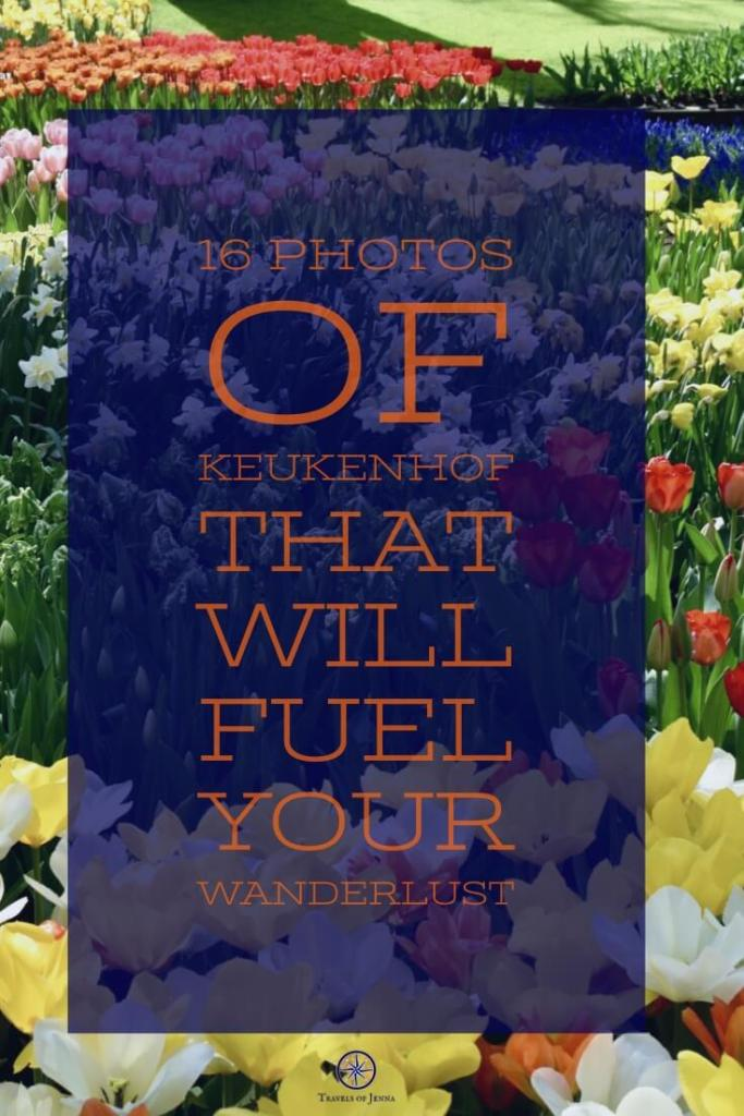 16 dreamy photos from inside Keukenhof Gardens that will inspire you to plan a getaway to Amsterdam this Spring. #keukenhofphotos #amsterdaminthespring #amsterdamgetaway #amsterdamweekendgetaway #amsterdamtravel