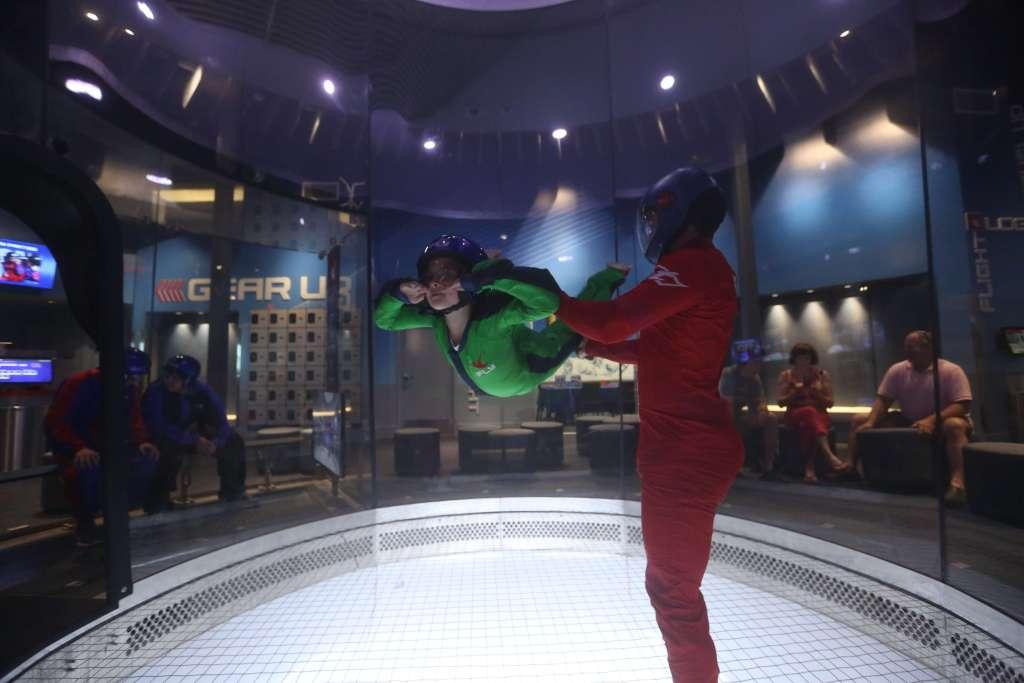 iFly OKC indoor skydiving