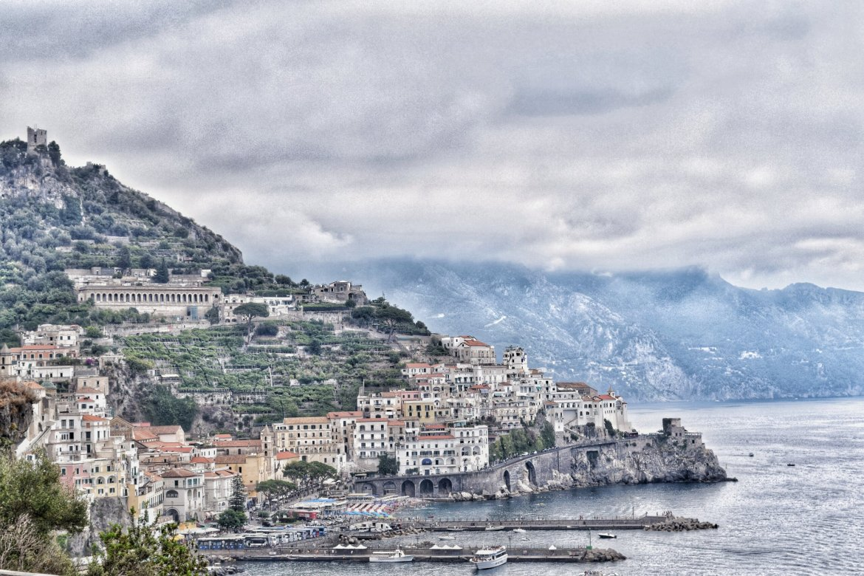 Amalfi Coast, Italy. Sorrento to Amalfi road trip