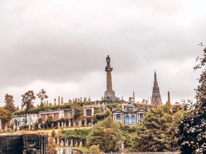View of Necropolis in Glasgow
