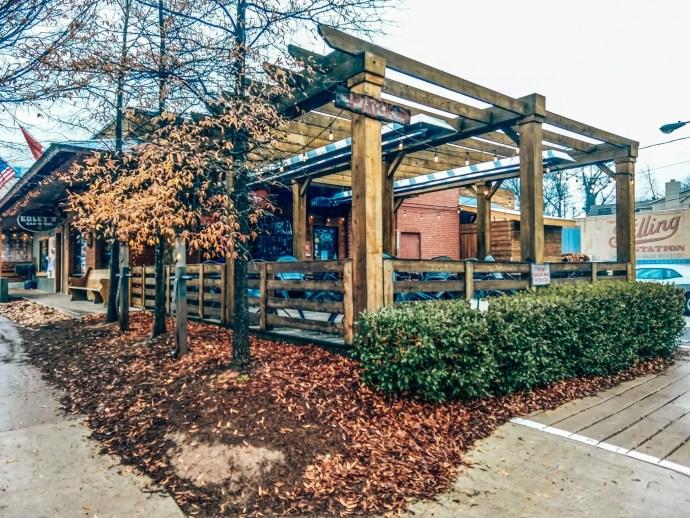 Edley's BBQ in Nashville 12 South Neighborhood