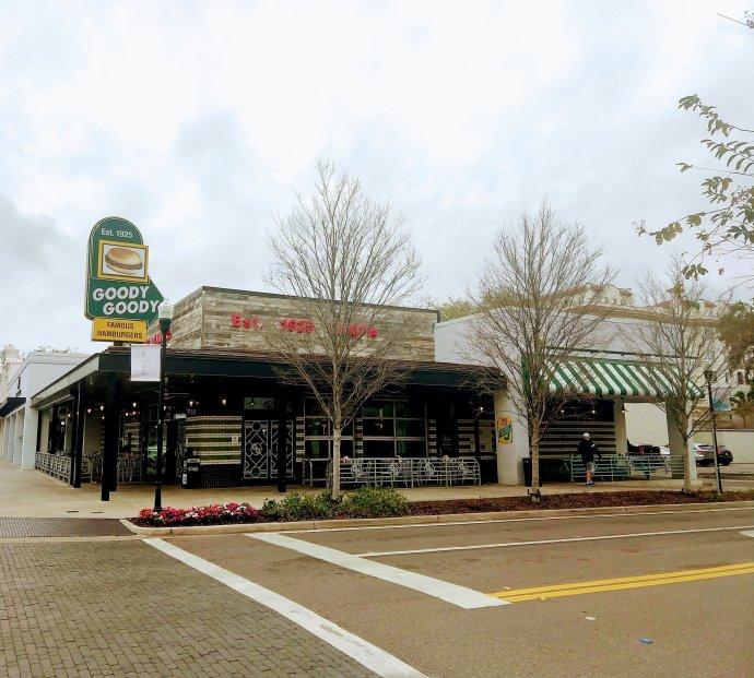 Goody Goody Burger in Tampa's Hyde Park