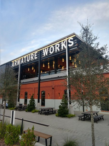 Armature Works in Tampa Bay a multipurpose space.