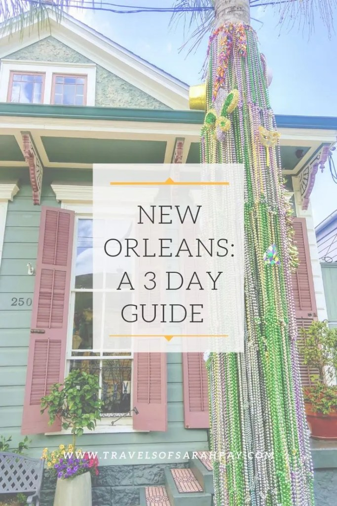 New Orleans A 3 day guide to Jazz, Food, and Tinder in the Big Easy. Learn the about the coolest neighborhoods, nightlife, and living spontanioulsly in New Orleans.