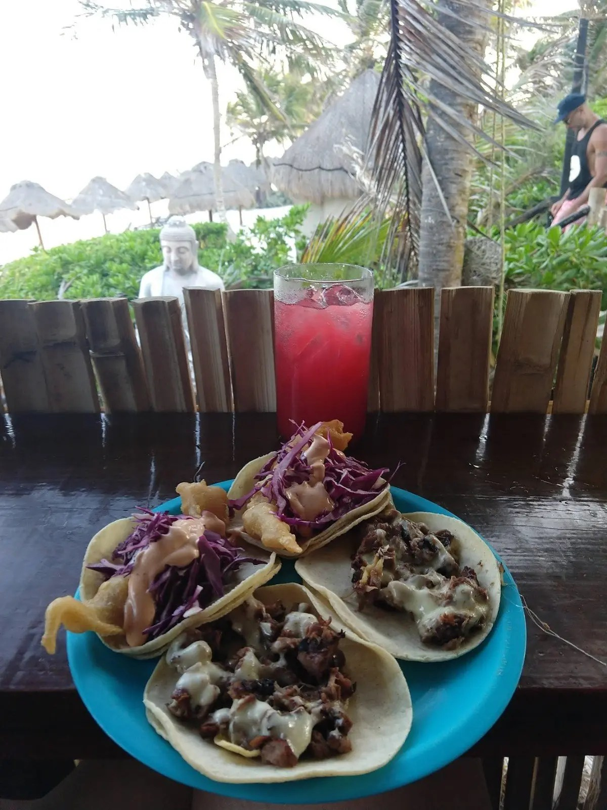 Tacos at Taqueria La Eufemia in Tulum
