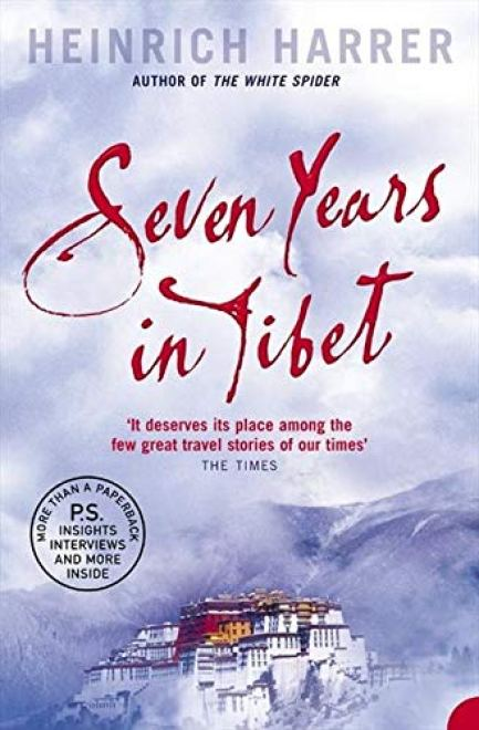 travel books to read - Seven years in Tibet