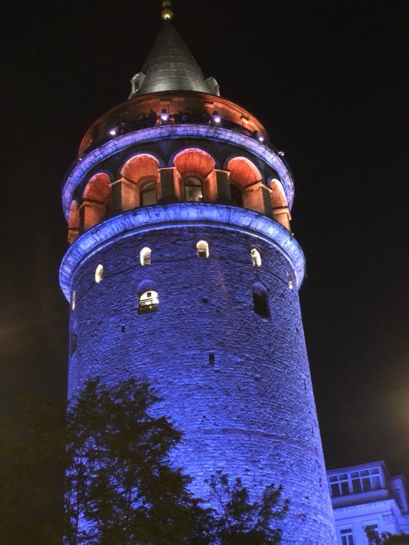 Türkei Istanbul Galata Turm