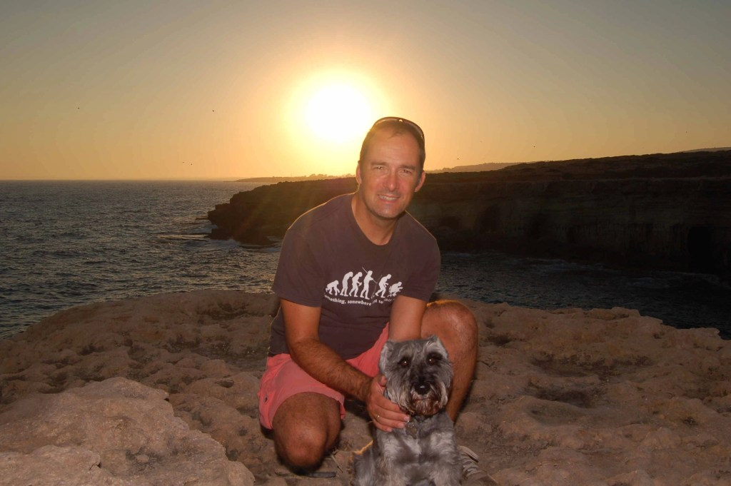 Miniature Schnauzer at the Cape