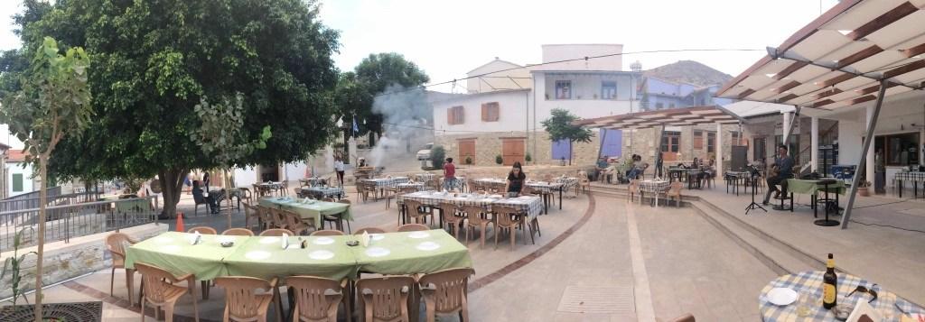 town square Kalavassos