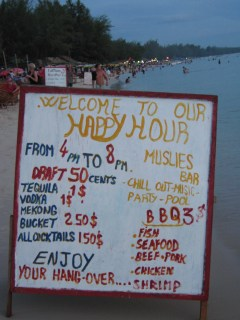 sihanoukville happy hour