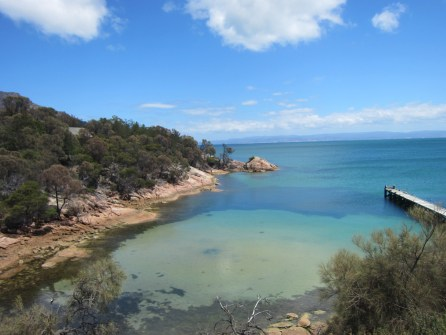 View from Freycinet Lodge