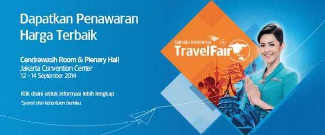 Promo Garuda Indonesia Travel Fair September 2014