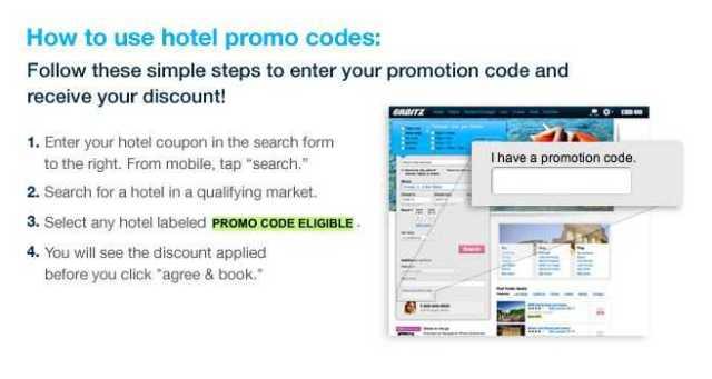 "Cara penggunaan kode promo ""TRAVELHAPPY"" orbitz.com"