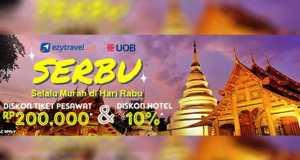 Promo tiket pesawat UOB