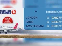 Promo Turkish Airlines