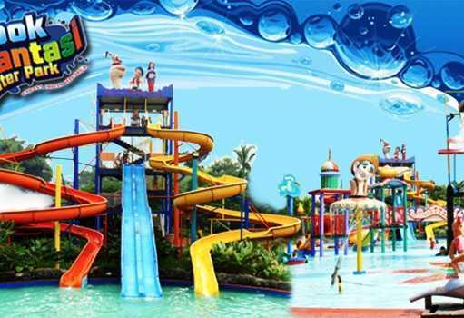 Depok Fantasi Waterpark atau Aladin Waterpark