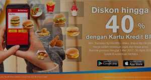 Promo McDonald's Kartu Kredit Bank