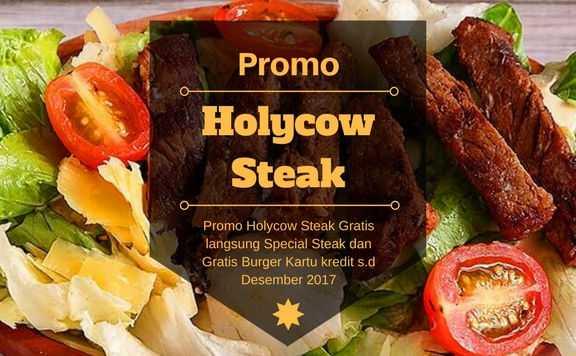 Promo Holycow Steak