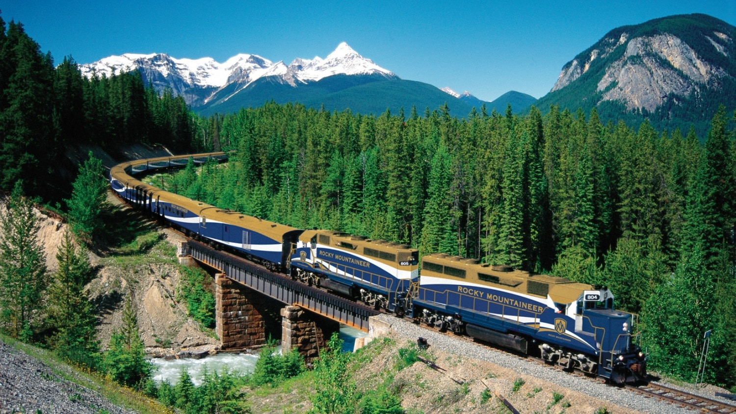 Riding the Canadian Rails: Two Experiences on Different Tracks