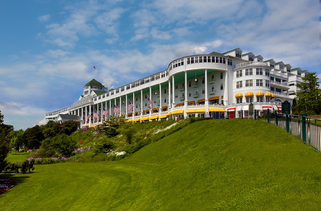 The Grand Hotel: Mackinac Island, Michigan