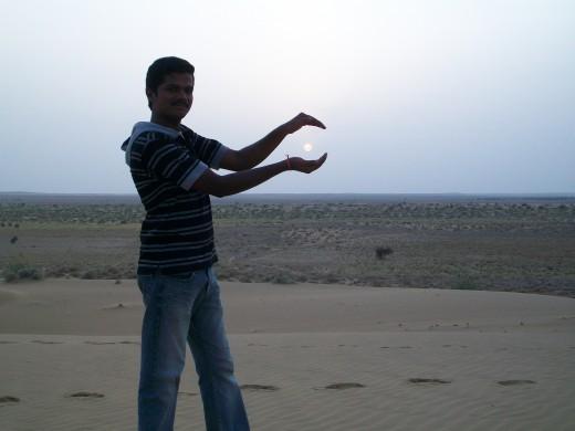 Jaisalmer SandDunes Sunset