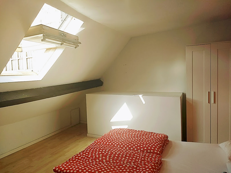 Another View Of Our Room At The Hello Hostel Brussels