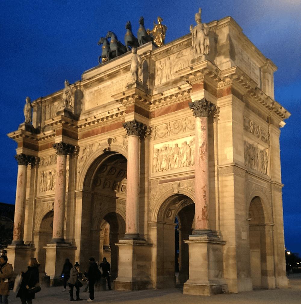 6 Paris Arc de Triomf