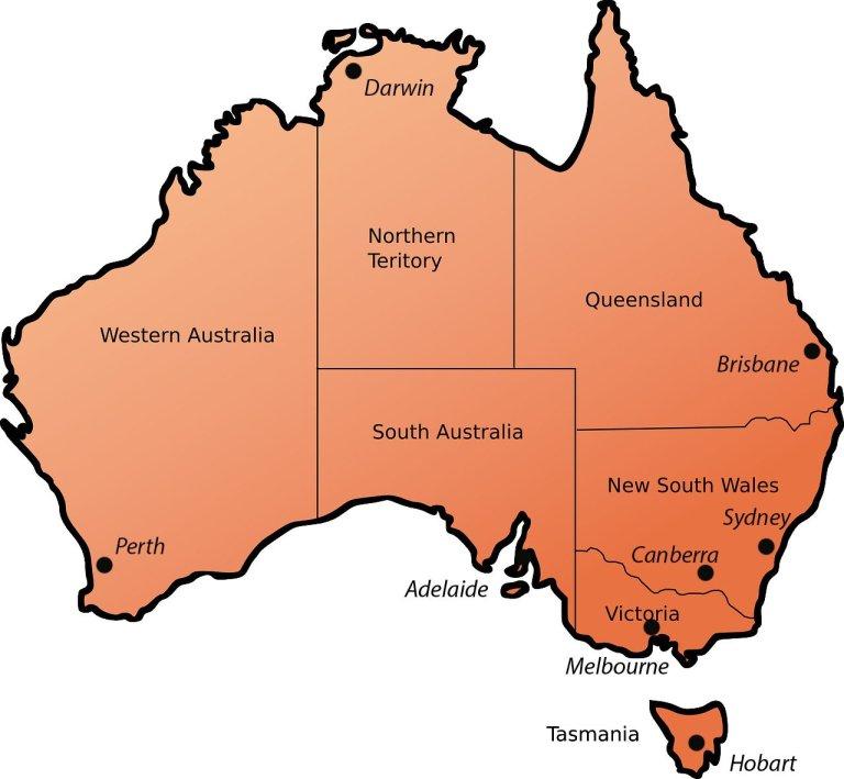 Stati Australia