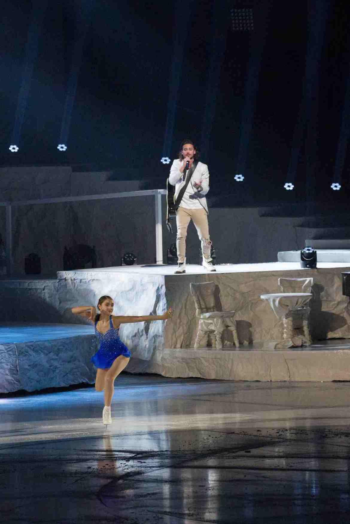 Alexia Paganini and Bastian Baker Zurich