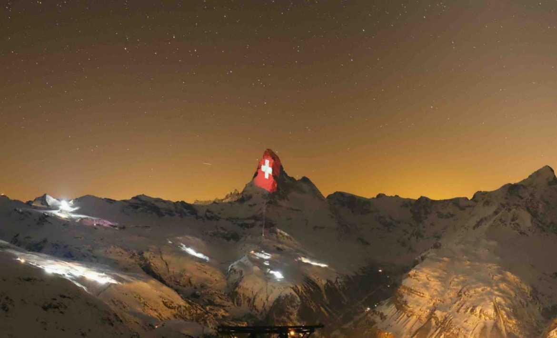 Gerry Hofstetter Lights Up the Matterhorn with Hope