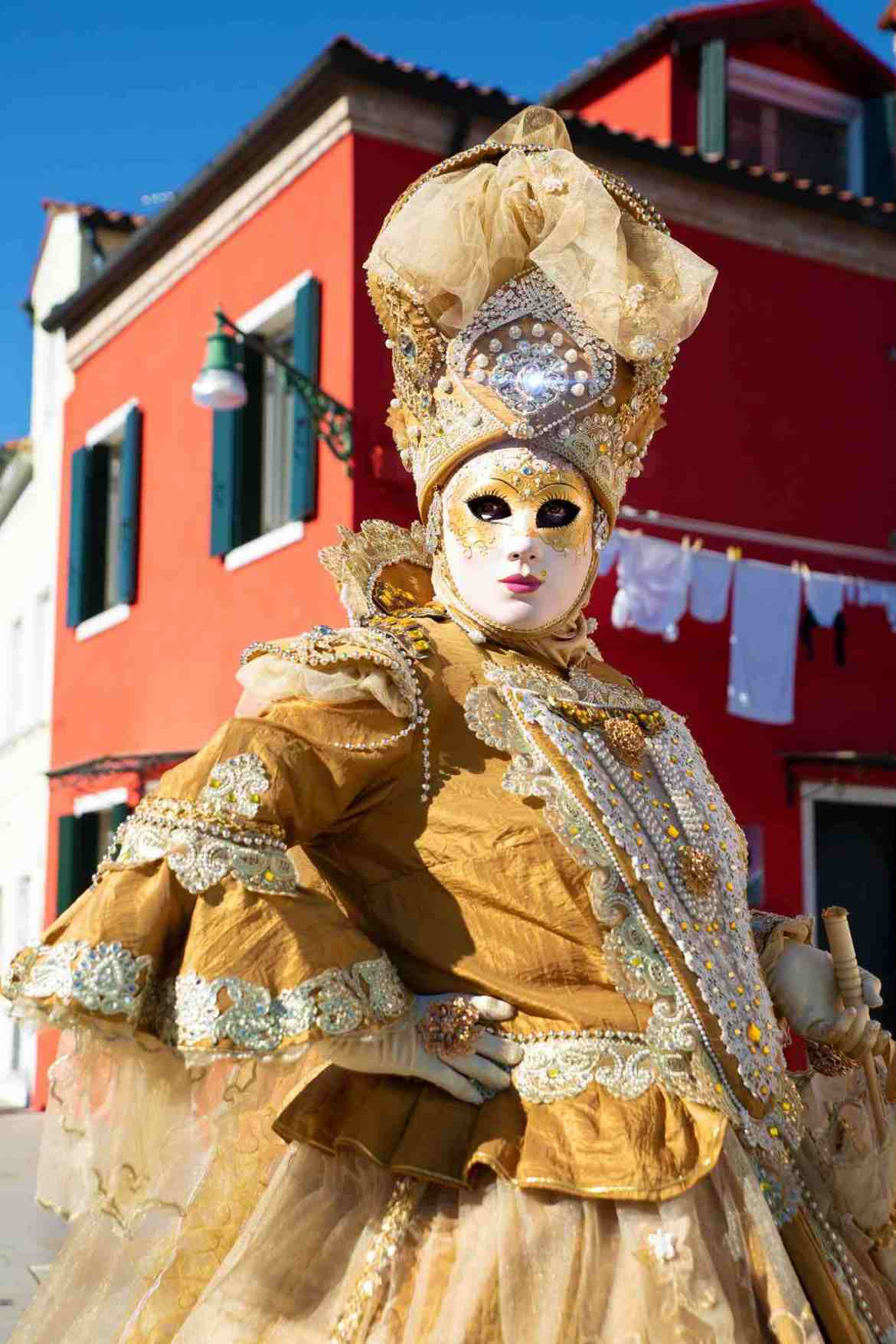 Burano and The Venice Carnival