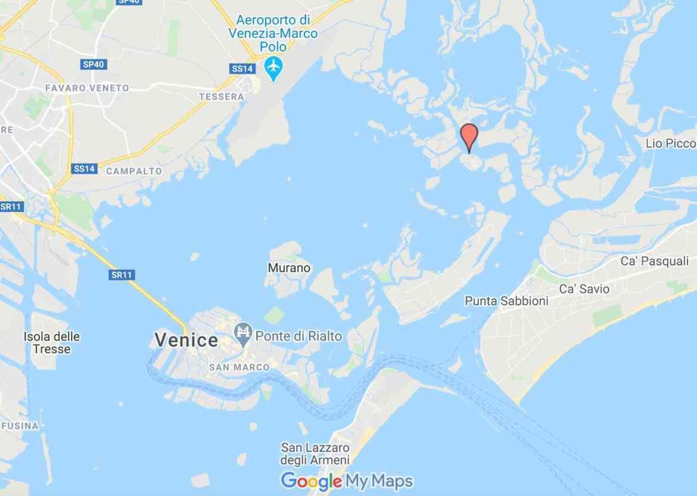 Burano Google Maps