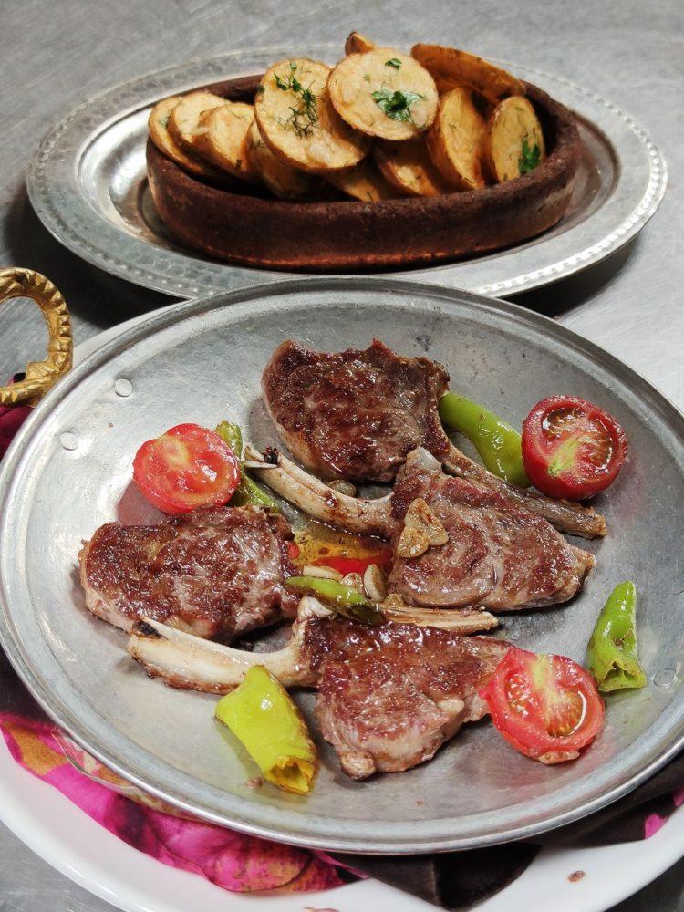 Lamb Cutlets at Lil'a Restaurant Cappadocia