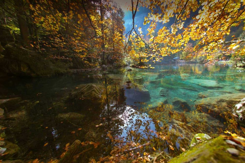 Three Swiss Lakes Which are Stunning in Autumn! Blausee near Bern