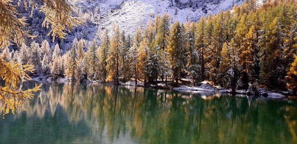 Stunning Swiss lakes LakePalpuogna