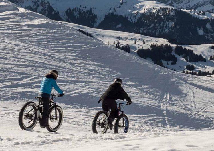 Freestyling and Fat Bikes at Villars
