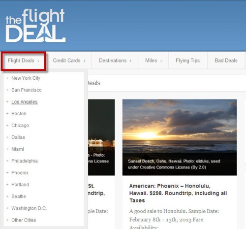 The Flight Deal