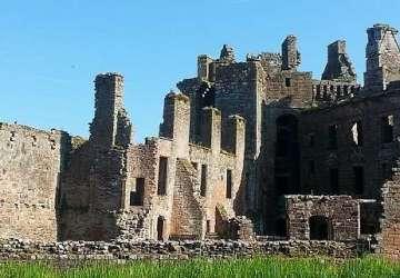 caerlaverock castle blog.